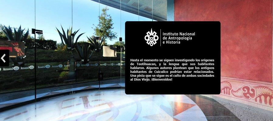 Visita en un clic el Museo de Sitio de Teotihuacan