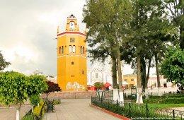 Una zona arqueológica y una ciudad histórica: Tlacotepe...