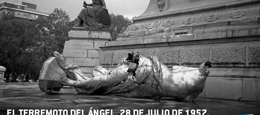 """El Terremoto de """"El Ángel"""". Memoria viva de ciertos días"""