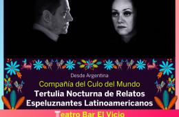 Tertulia nocturna de relatos espeluznantes latinoamerican...