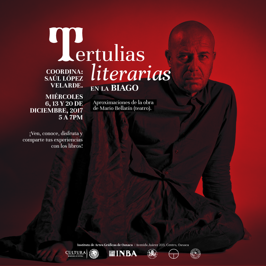 Tertulias literarias.