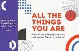All the things you are con Frida V. de la Sota (clarinete...