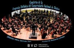 Orquesta Sinfónica del Conservatorio Nacional de Música...