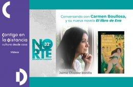 Norte 32.  Conversando con Carmen Boullosa