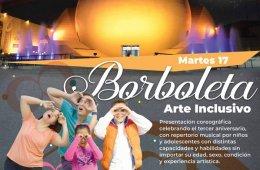 Borboleta Arte Inclusivo