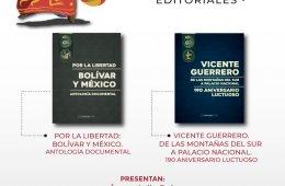 Libros: Bolívar y México. Por la libertad. Antología d...