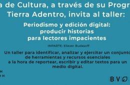 Periodismo y edición digital: producir historias para le...
