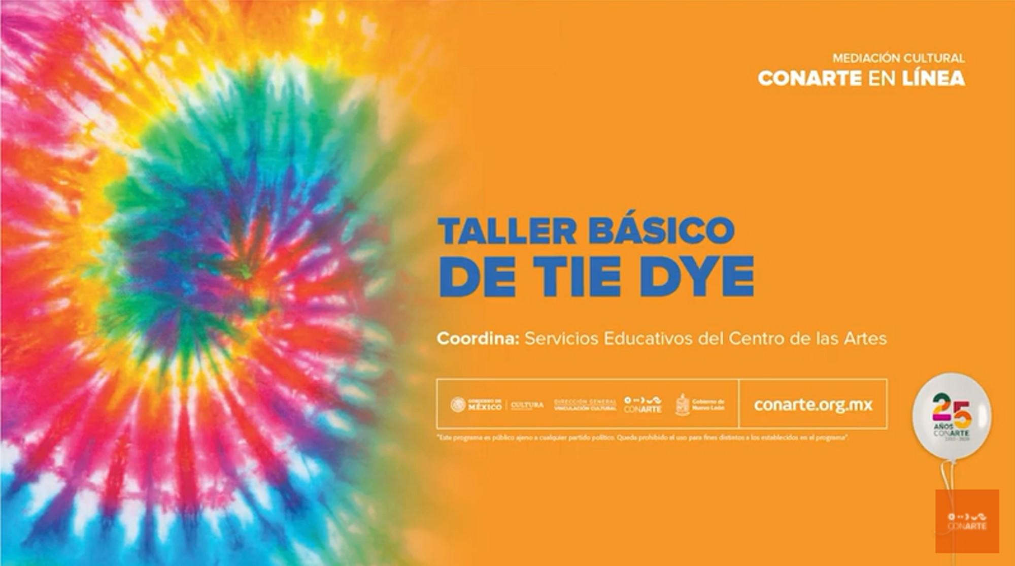 Taller básico de Tie Dye
