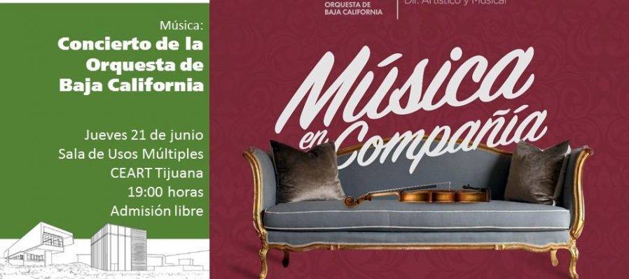 Concierto con la Orquesta de Baja California