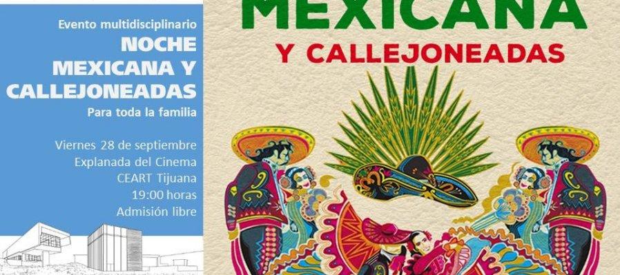 Noche Mexicana y Callejoneadas