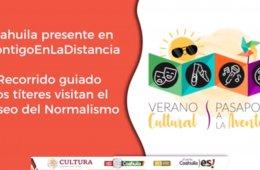 Los títeres recorren el Museo del Normalismo