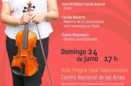 Examen de titulación en Violín l Orquesta Escuela Carlo...