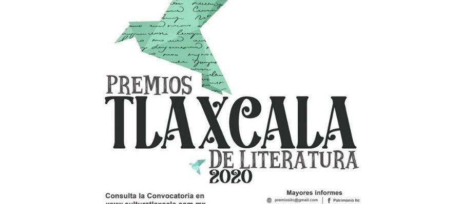 Premios Estatales de Literatura Tlaxcala 2020
