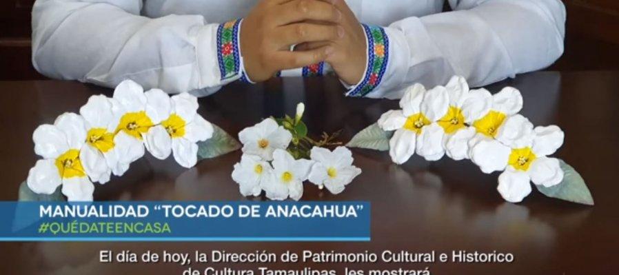 Tocado de anacahua