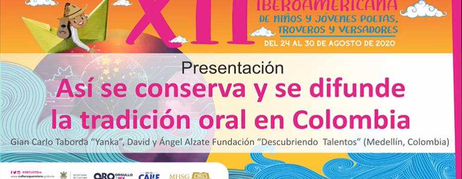 Así se conserva y se difunde la tradición oral en Colombia