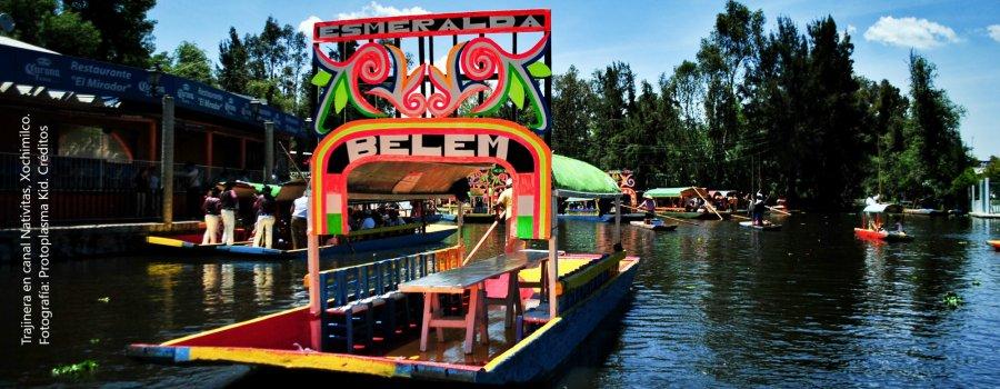 Xochimilco, la Venecia mexicana. Ciudad de México