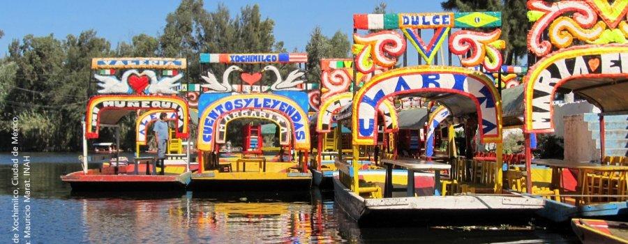 In xochitl, in cuicatl: los jardines flotantes de Xochimilco. Ciudad de México