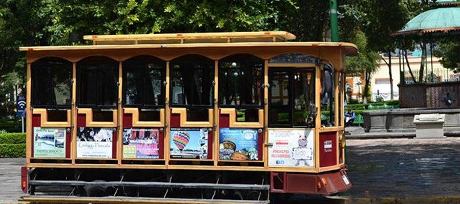 Tranvía Turístico en Tlaxcala