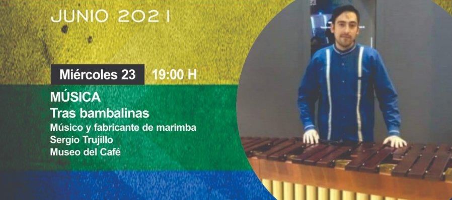 Tras bambalinas: Músico y fabricante de Marimba