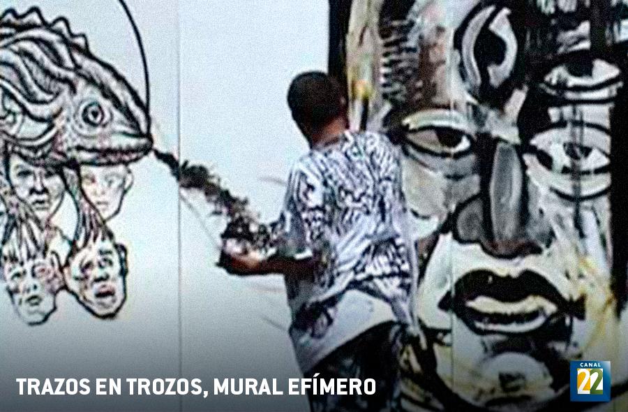 Trazos En Trozos Mural Efimero De 1968