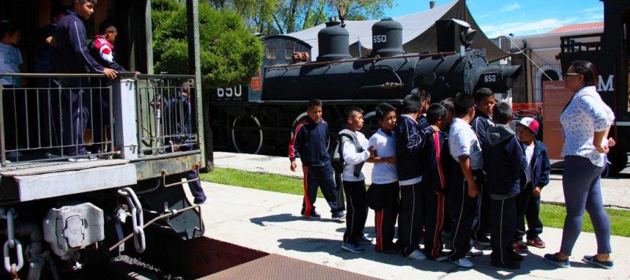 Disfruta de la Vía Cultural viajando en tren