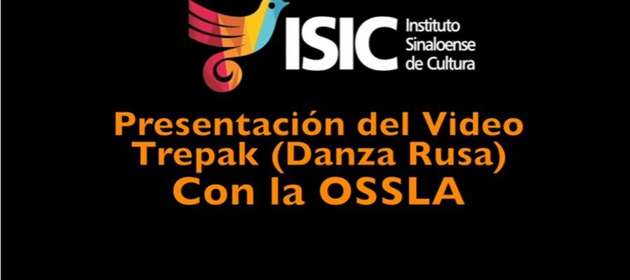 OSSLA ejecuta fragmento de El Cascanueces con Trepak (Danza Rusa)