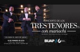 Concierto de los tres tenores con mariachi