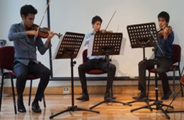 Recital de Música de Cámara l Trío de la Orquesta Escu...