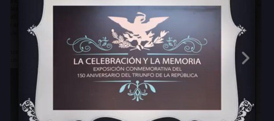 Triunfo de la República. 150 Aniversario
