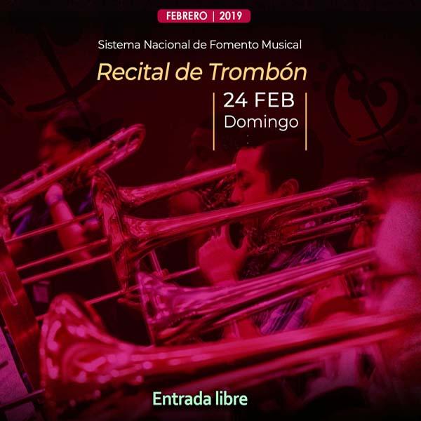 Recital del Trombón de la Orquesta Escuela Carlos Chávez