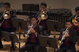 Trombone and Trumpet Recital of Carlos Chavez School Orch...