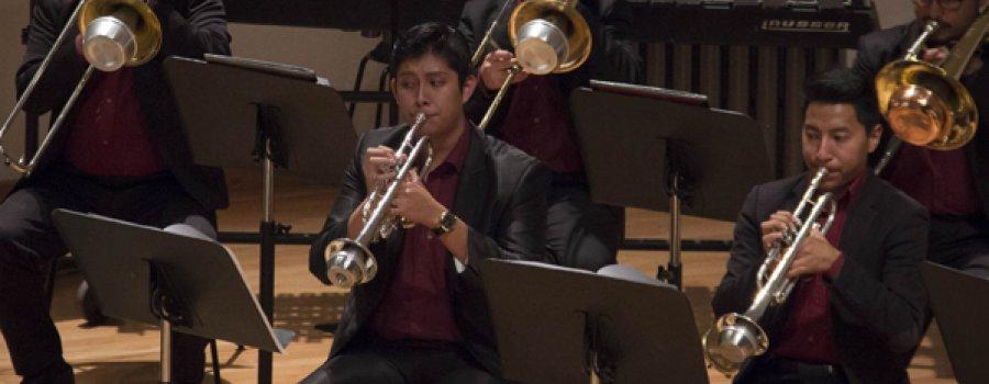 Recital de trombón y trompeta de la Orquesta Escuela Carlos Chávez