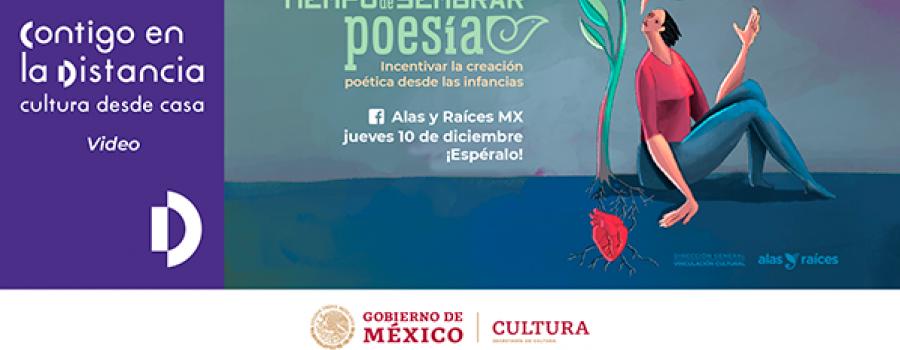 Tiempo de sembrar poesía. Incentivar la creación poética desde las infancias /Cierre de la 2da Temporada