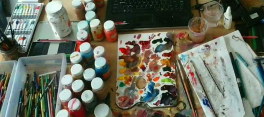 Tutoriales de dibujo y pintura