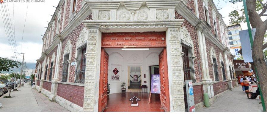 Recorre virtualmente el Museo de la Ciudad de Tuxtla Gutierrez