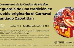 Sesión de Escucha | Ciclo Carnavales de la Ciudad de Mé...