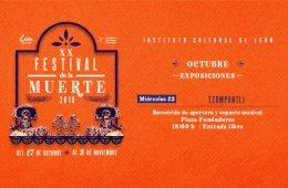 XX FESTIVAL DE LA MUERTE: TZOMPANTLI