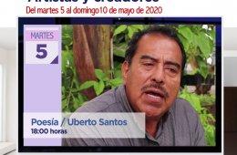 Poesía con Uberto Santos