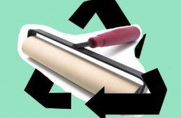 Gráfica con Materiales Reciclables