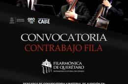 Convocatoria contrabajo de fila en la orquesta filarmóni...