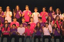 Concierto con la Coral Juvenil del Instituto Valladolid