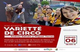 Varietté de circo con Andrey Galván y Miguel Torres