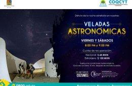 Veladas Astronómicas de Marzo