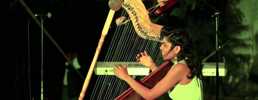 Recital de arpa y voz con Verónica Valerio