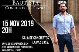 Juan Pablo Bautista Cano in Concert