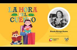 La hora del cuento con Eleyda Abrego Ruano