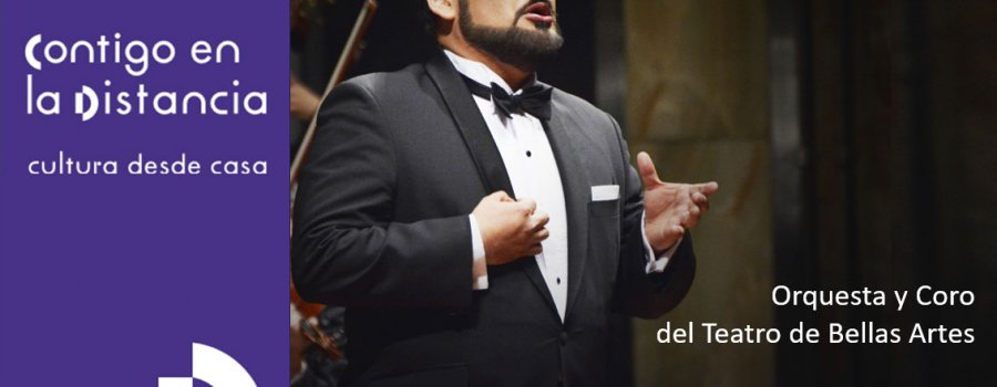 Javier Camarena canta a México