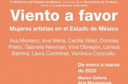 Viento a favor. Mujeres artistas en el Estado de México