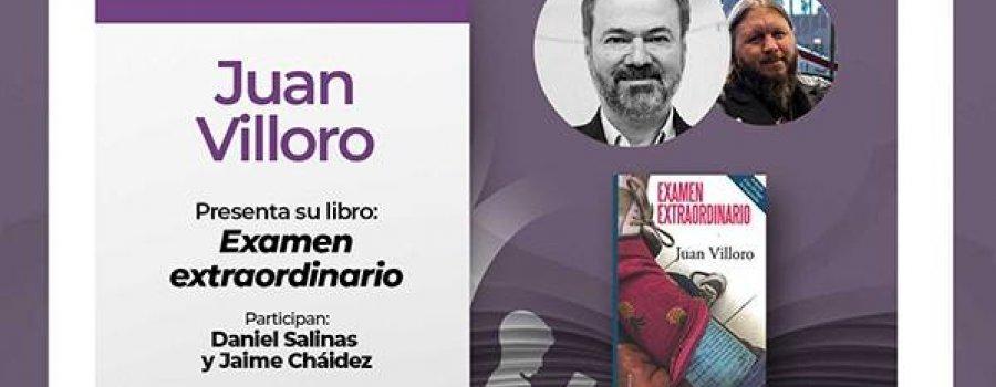 Conversando con... Juan Villoro sobre su libro Examen extraordinario