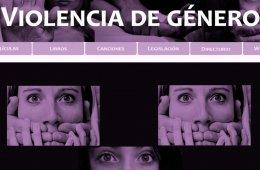 Conoce este portal web con material sobre violencia de g�...